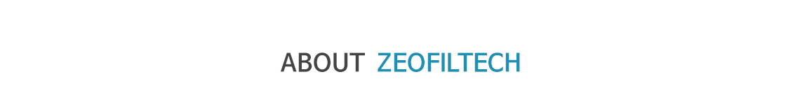 About Zeofiltech